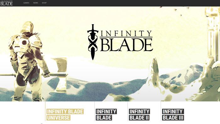 games like infinity blade